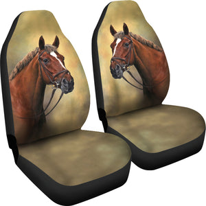 Classic Horse Car Seat Covers