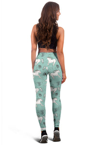 Flowery Runners Leggings