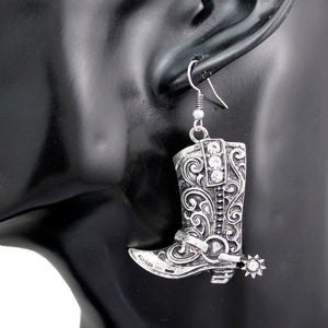 Rider Boots Earrings - American Horse