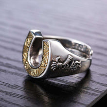 925 Silver Chief's Ring - American Horse