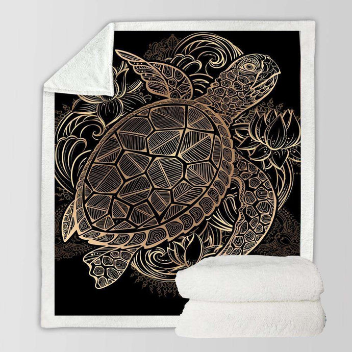 Majestic Turtle by Noah's Home Art - American Horse