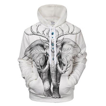 hoodie with royal Elephant
