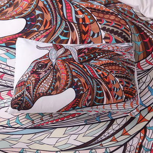 Mosaic Wild Horse by USA4Life - American Horse