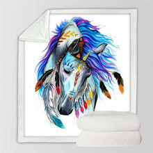 """Pferd"", Tribal Horse by Pixie Cold Art - American Horse"