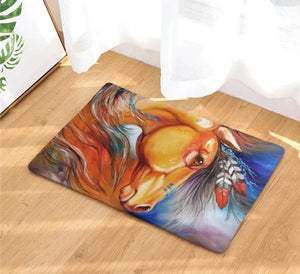 Artist Paintings Doormats – by Hongbo