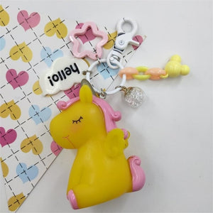 Hello Unicorn Keychain