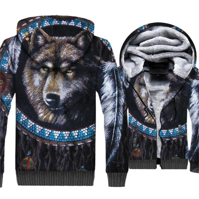 Wolf Dreamcatcher Heavy Jacket