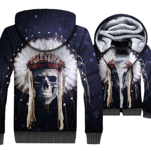 War Bonnet Skull Heavy Jacket