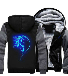Glowing Horse Heavy Jacket