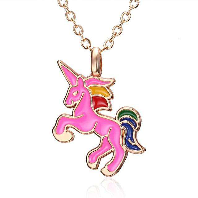 Lucky Unicorn Necklace - American Horse