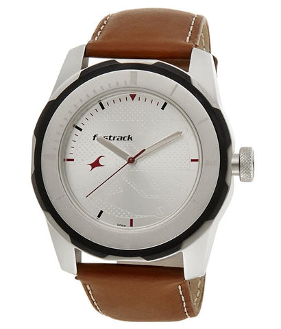 Economy 2013 Analog White Dial Men's Watch
