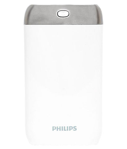 Philips DLP8006 8000 -mAh Li-Polymer Power Bank White