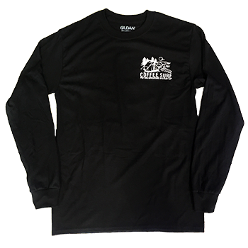 Coffee Surf Long Sleeve T