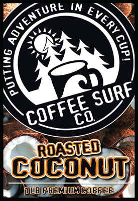 Coffee Surf Roasted Coconut