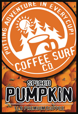 Coffee Surf Pumpkin Spice Coffee
