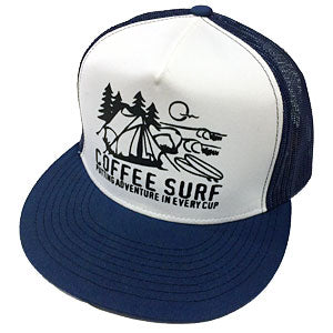 Coffee Surf Co Camping Snapback