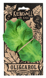 kendal the kale teether by Oli and Carol