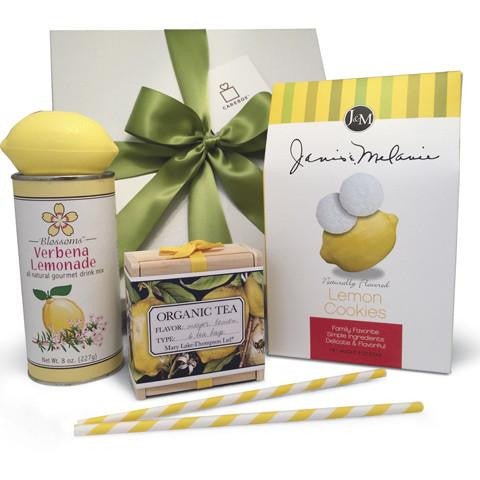 Appreciation GIft - Lemon Gift Basket