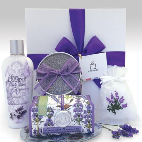 Lavender Gift - Lavender Bath And Body Gift Set