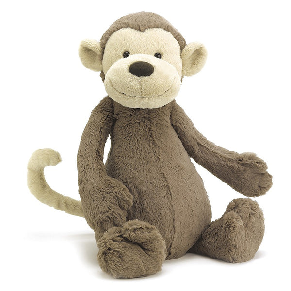 Organic Baby Gift, JellyCat Brown Bashful Monkey