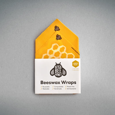 Beeswax Wraps - Lunch Pack (Case of 12)