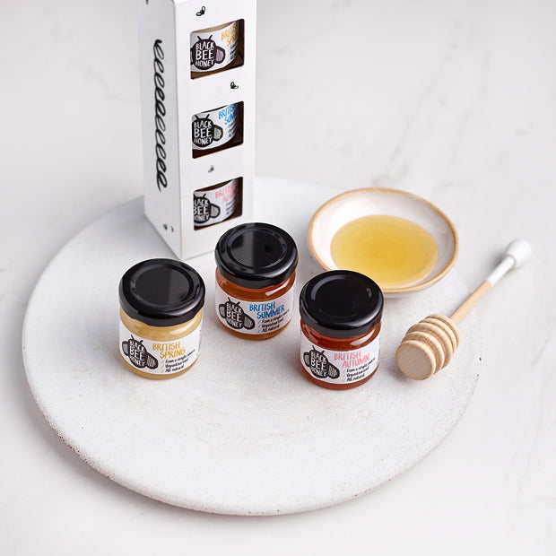 The Honey Seasons - Mini Jar Triple Pack