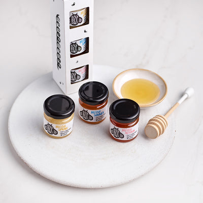 The Honey Seasons - Mini Jar Triple Pack (Case of 6)