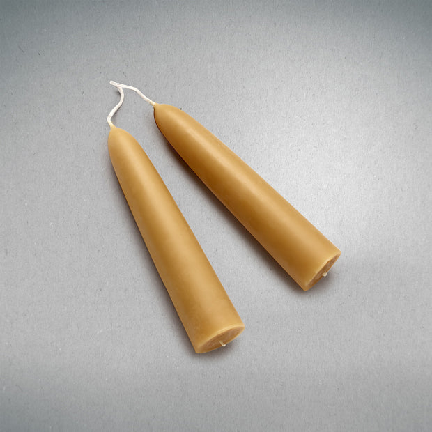 Beeswax Candles - A Pair of Big Ones