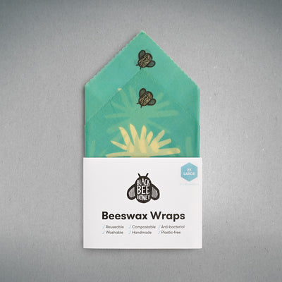 Beeswax Wraps - 2 x Large (Case of 12)