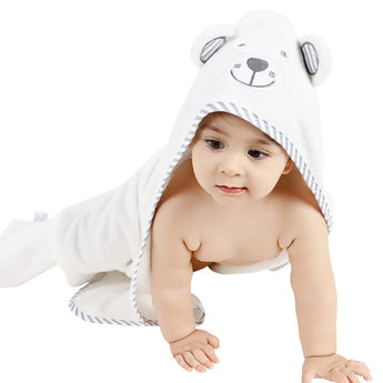 100% Organic Bamboo Cotton Cute Animal Hooded Bath Towel Large = BabyAlex, Afterpay Available, Toddler Clothes, Diaper Bag, Designer Diaper Bag, Diaper Bag Backpack, Baby Shop Australia, Alex Collections, Baby Clothe Australia