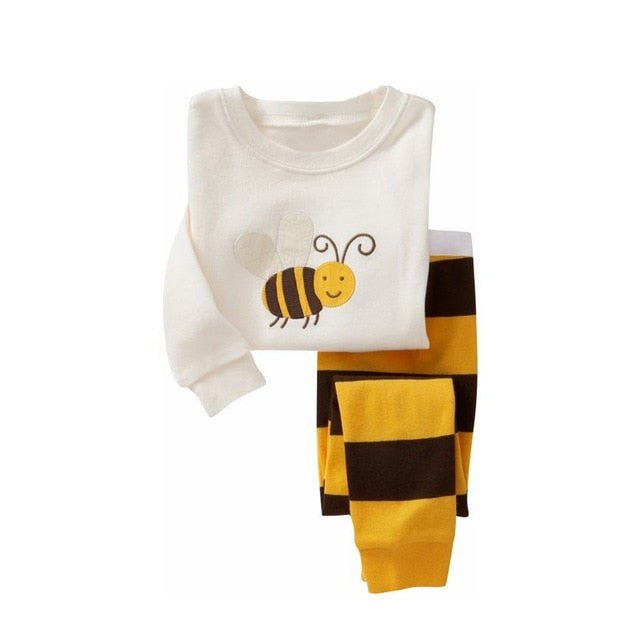 Honeybee Sleepwear Kids Pajamas Set = BabyAlex, Afterpay Available, Toddler Clothes, Diaper Bag, Designer Diaper Bag, Diaper Bag Backpack, Baby Shop Australia, Alex Collections, Baby Clothe Australia