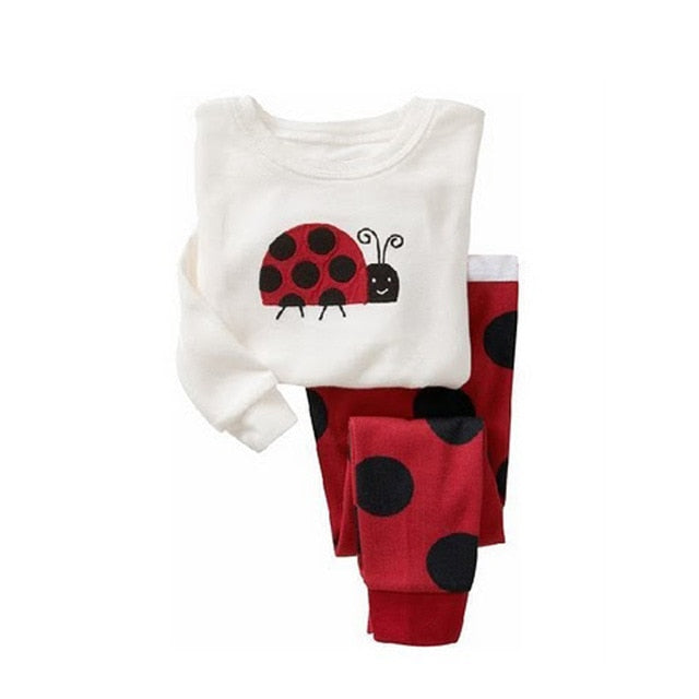 Lady Bug Sleepwear Kids Pajamas Set