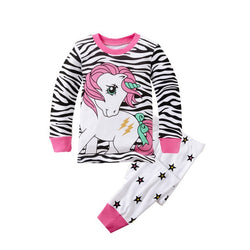 Unicorn Print Sleepwear Kids Pajamas Set = BabyAlex, Afterpay Available, Toddler Clothes, Diaper Bag, Designer Diaper Bag, Diaper Bag Backpack, Baby Shop Australia, Alex Collections, Baby Clothe Australia
