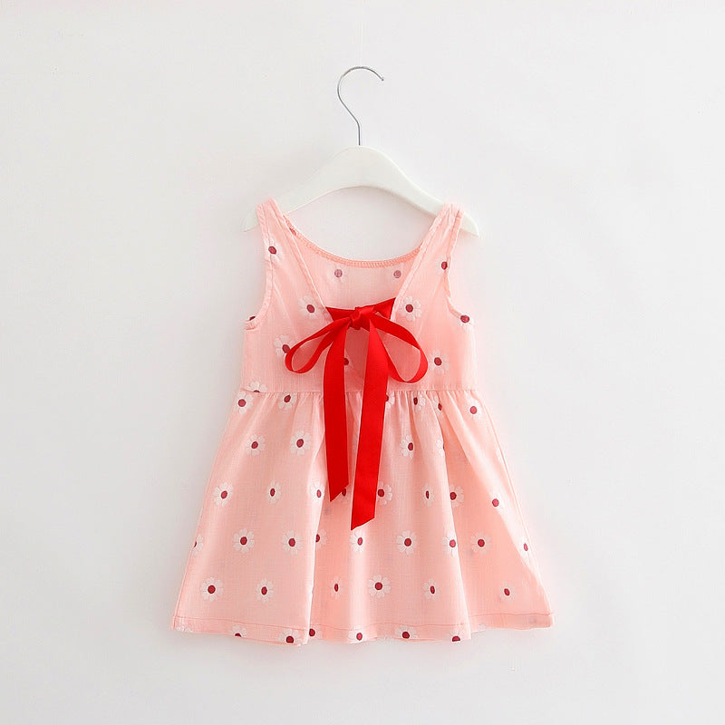 Stylish Daisy Girls Cotton Dress - Baby Alex, baby clothes, baby shoes, diaper bag, Maternity clothes