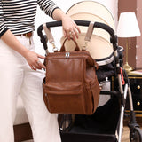 Premium Faux Leather Large Diaper Bag Backpack = BabyAlex, Afterpay Available, Toddler Clothes, Diaper Bag, Designer Diaper Bag, Diaper Bag Backpack, Baby Shop Australia, Alex Collections, Baby Clothe Australia