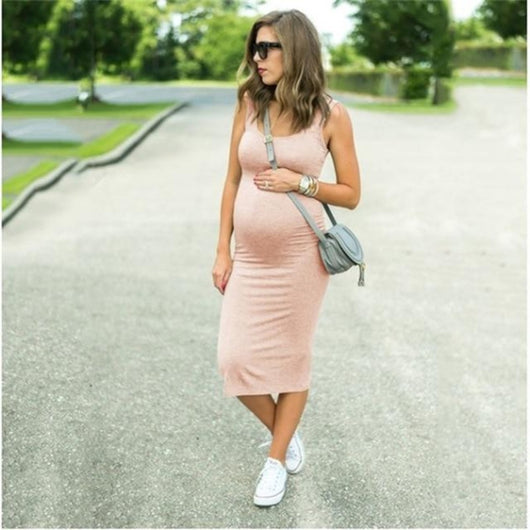 Smart Casual Solid Sleeveless Pregnancy Dress = BabyAlex, Afterpay Available, Toddler Clothes, Diaper Bag, Designer Diaper Bag, Diaper Bag Backpack, Baby Shop Australia, Alex Collections, Baby Clothe Australia