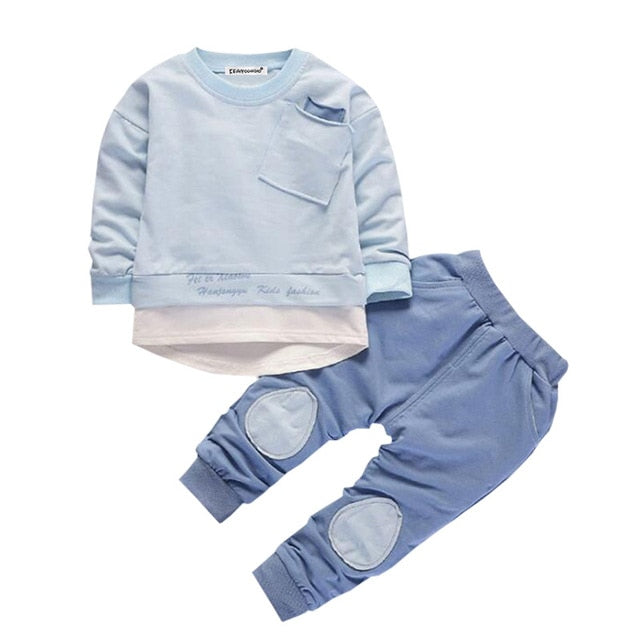 boys kids clothing top and track pants
