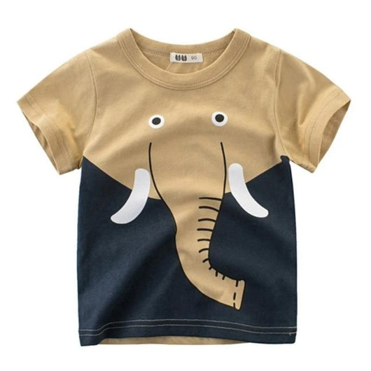 Fun Elephant Short Sleeve Tee Shirts = BabyAlex, Afterpay Available, Toddler Clothes, Diaper Bag, Designer Diaper Bag, Diaper Bag Backpack, Baby Shop Australia, Alex Collections, Baby Clothe Australia