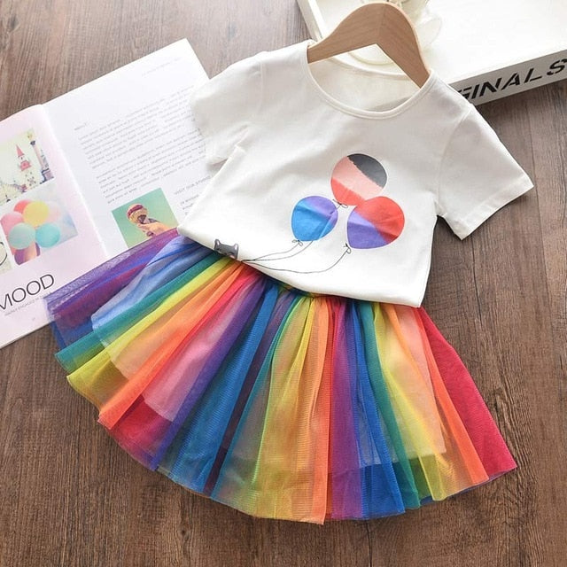 Rainbow skirt and Balloon Top set = BabyAlex, Afterpay Available, Toddler Clothes, Diaper Bag, Designer Diaper Bag, Diaper Bag Backpack, Baby Shop Australia, Alex Collections, Baby Clothe Australia