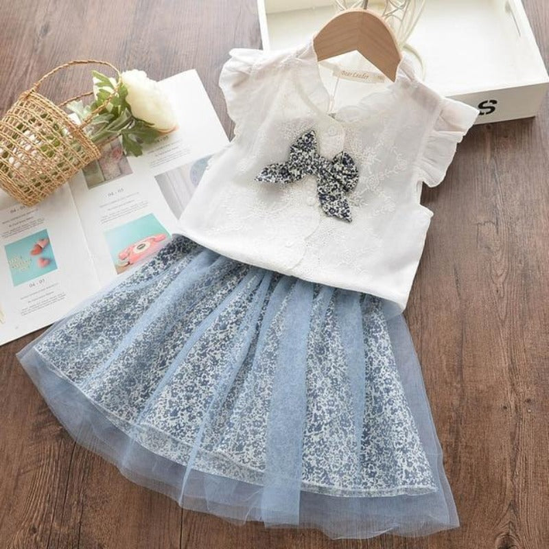 Beautiful Butterfly Top and Floral Skirt Set = BabyAlex, Afterpay Available, Toddler Clothes, Diaper Bag, Designer Diaper Bag, Diaper Bag Backpack, Baby Shop Australia, Alex Collections, Baby Clothe Australia