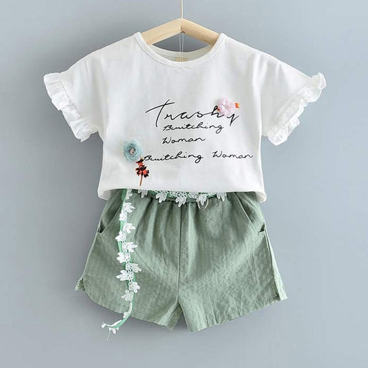 White Top And Green Short = BabyAlex, Afterpay Available, Toddler Clothes, Diaper Bag, Designer Diaper Bag, Diaper Bag Backpack, Baby Shop Australia, Alex Collections, Baby Clothe Australia
