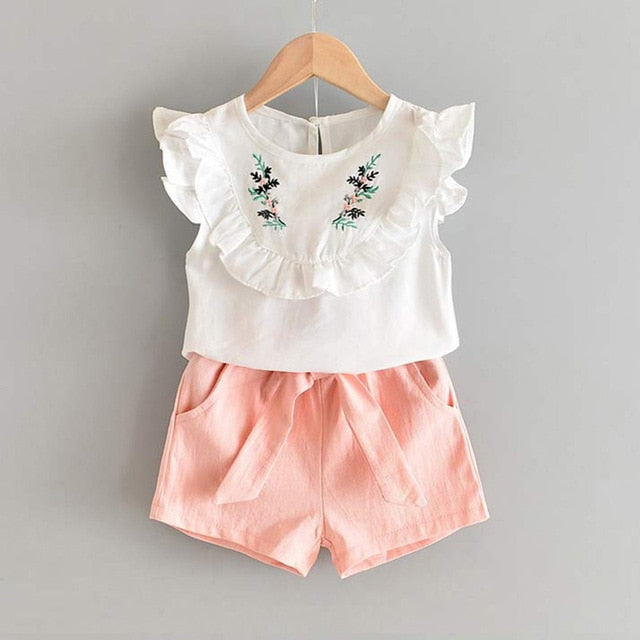 White Top And Peach Short = BabyAlex, Afterpay Available, Toddler Clothes, Diaper Bag, Designer Diaper Bag, Diaper Bag Backpack, Baby Shop Australia, Alex Collections, Baby Clothe Australia