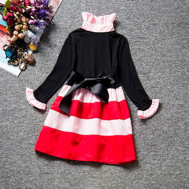 Stylish Girl's Color Block A-Line Dress - Baby Alex, baby clothes, baby shoes, diaper bag, Maternity clothes