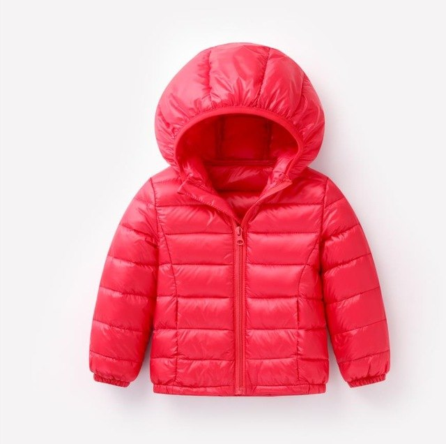Kids Winter Down Jackets  Warm Hooded Long Sleeve Outerwear Baby & Toddler Jacket - Baby Alex, baby clothes, baby shoes, diaper bag, Maternity clothes