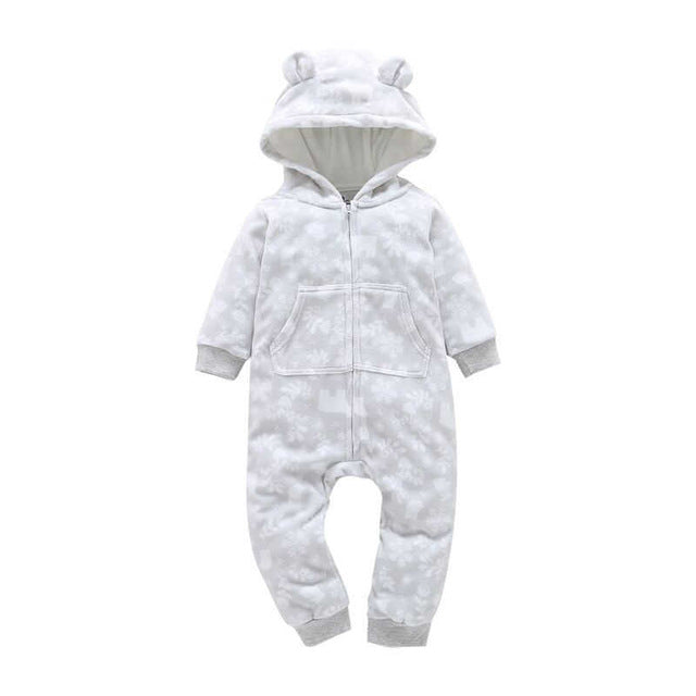 Baby Fleece Zipper Jumpsuit - Baby Alex, baby clothes, baby shoes, diaper bag, Maternity clothes