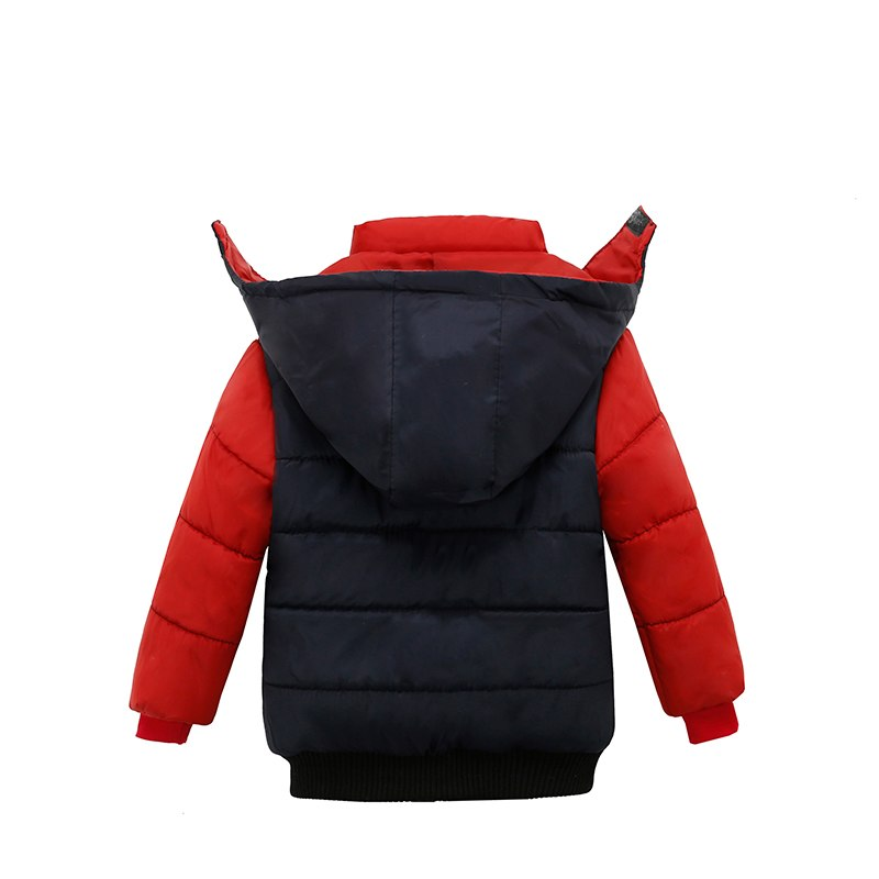 Red & Black Toddler Baby Winter Warm Hoodies Jacket - Baby Alex, baby clothes, baby shoes, diaper bag, Maternity clothes