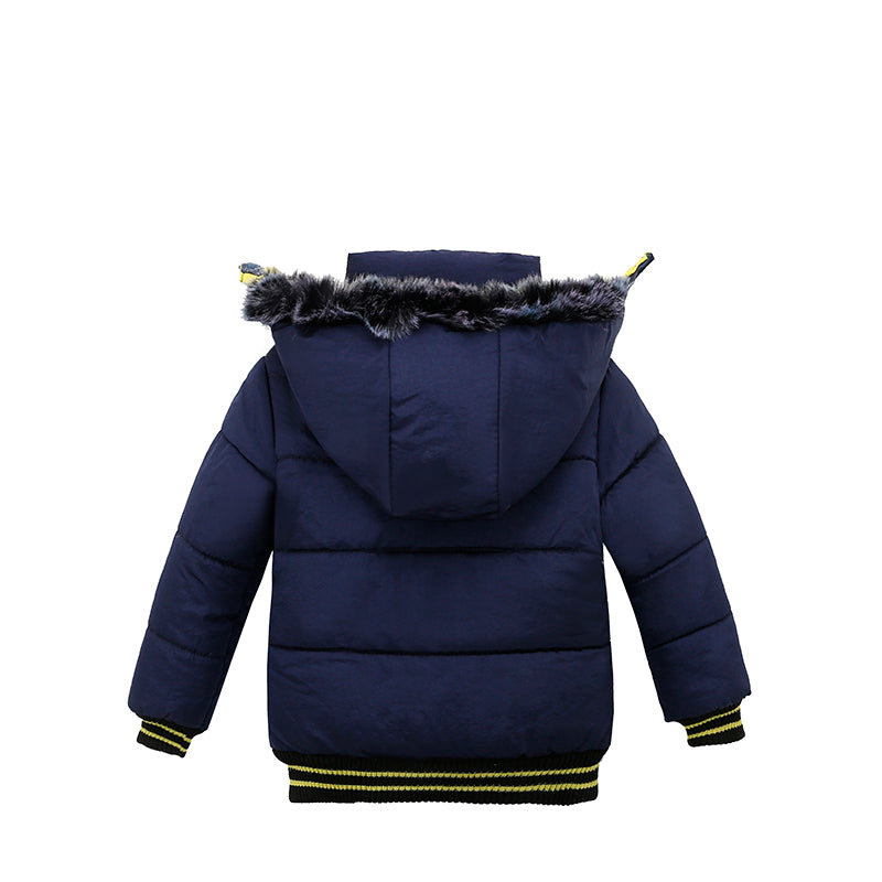 Toddler Baby Boy Winter Warm Jacket - Kids Outerwear Hoodie Jacket - Baby Alex
