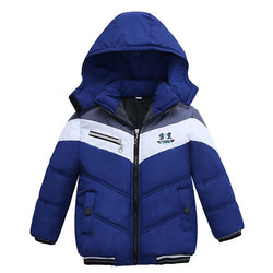 Smart Blue Toddler Baby Winter Warm Hoodies Jacket = BabyAlex, Afterpay Available, Toddler Clothes, Diaper Bag, Designer Diaper Bag, Diaper Bag Backpack, Baby Shop Australia, Alex Collections, Baby Clothe Australia