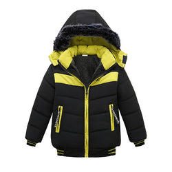 Lemon & Black Toddler Baby Winter Warm Hoodies Jacket = BabyAlex, Afterpay Available, Toddler Clothes, Diaper Bag, Designer Diaper Bag, Diaper Bag Backpack, Baby Shop Australia, Alex Collections, Baby Clothe Australia