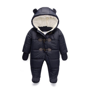 Cute Hooded Winter Jumpsuit for Babies - Baby Alex, baby clothes, baby shoes, diaper bag, Maternity clothes